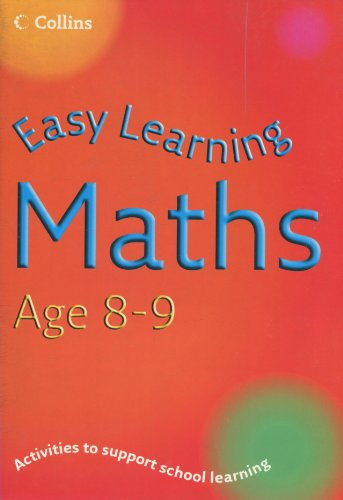9780007210190: Maths Age 8-9 (Easy Learning)