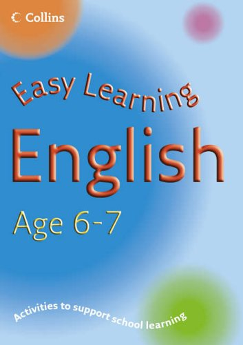 9780007210244: English Age 6-7 (Easy Learning)