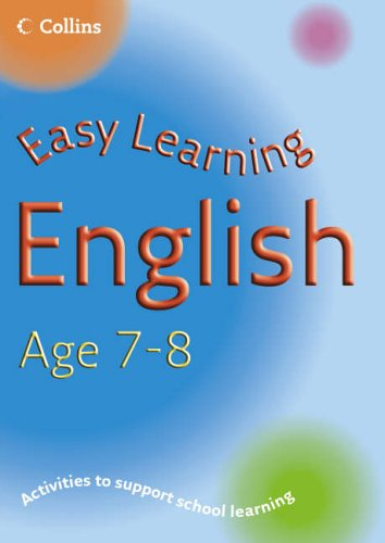 9780007210251: Easy Learning - English Age 7-8