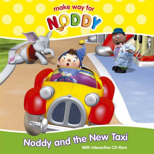 9780007210602: Noddy and the New Taxi Interactive CD-Rom Book (Book & CD Rom)