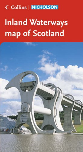 9780007211166: Collins/Nicholson Inland Waterways Map of Scotland (Waterways Guide)