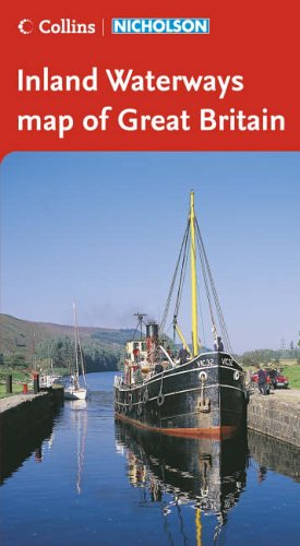 9780007211173: Collins/Nicholson Inland Waterways Map of Great Britain (Waterways Guide)