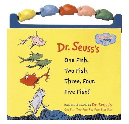 9780007211425: One Fish, Two Fish, Three, Four, Five Fish!: Bead Book (Dr. Seuss Nursery)