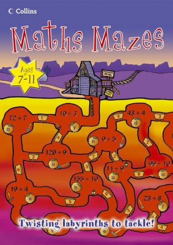 9780007211456: Maths Mazes (Mighty Maths)