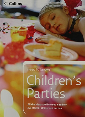 9780007213078: Children's Parties (Collins Need to Know?)