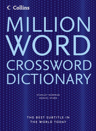 9780007213184: Million Word Crossword Dictionary - All The Words You Need For Completing Crosswords