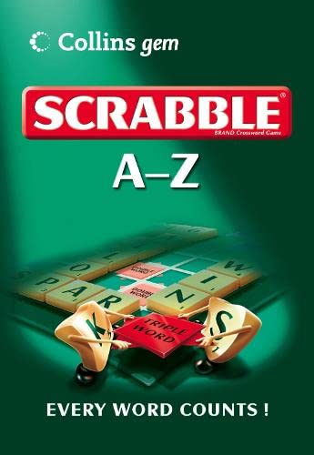 9780007213603: A-Z of Scrabble (Collins GEM)