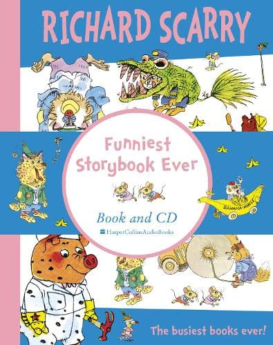 9780007214129: Funniest Storybook Ever: Complete & Unabridged (Book & CD)