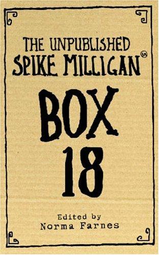 9780007214273: The Unpublished Spike Milligan Box 18
