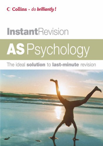 9780007215584: AS Psychology (Instant Revision)