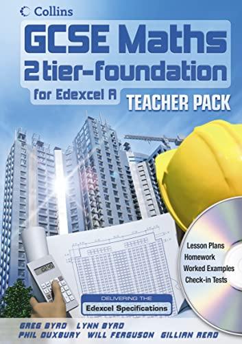 9780007215614: GCSE Maths for Edexcel Linear (A) - Foundation Teacher Pack and CD-Rom