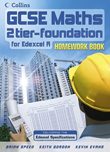 9780007215621: Foundation Homework Book (GCSE Maths for Edexcel Linear (A))