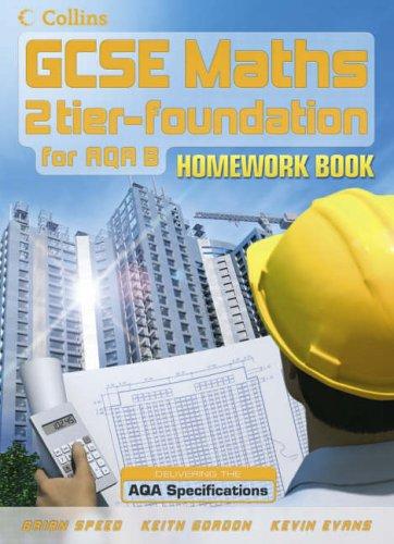 9780007215713: GCSE Maths for AQA Modular (B) - Foundation Homework Book