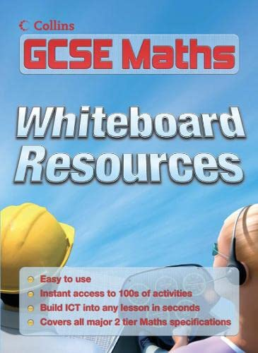 9780007215881: E-Resources - GCSE Maths Whiteboard CD-Rom: Single Licence
