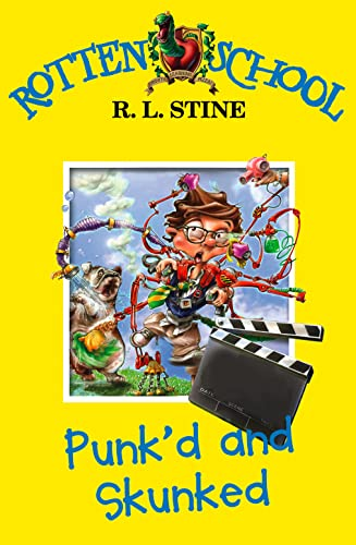 9780007216277: Punk'd and Skunked (Rotten School)
