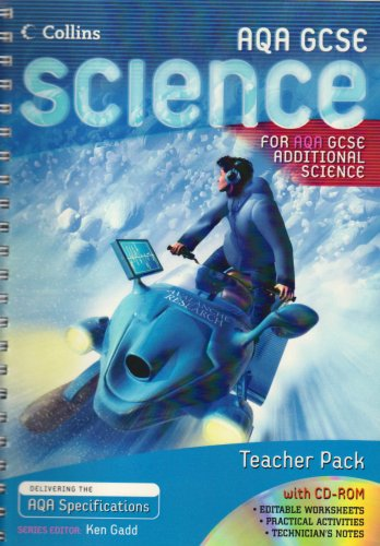 9780007216314: Additional Science Teacher Pack (GCSE Science for AQA)