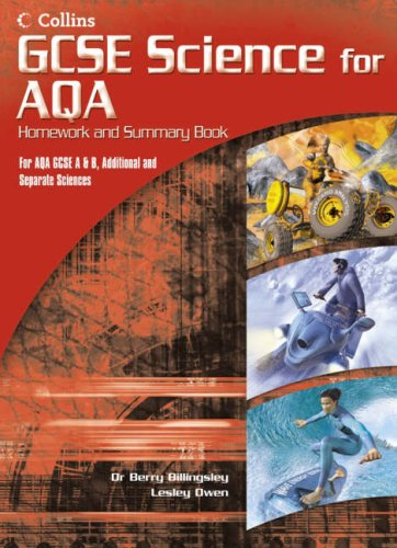 9780007216338: GCSE Science for AQA - Science Summary and Homework Book