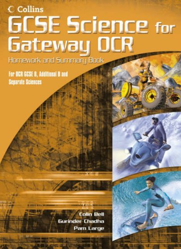 9780007216390: GCSE Science for OCR B - Gateway Science - Science Summary and Homework Book