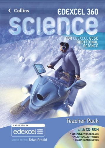 9780007216420: GCSE Science for Edexcel - Additional Science Teacher Pack and CD-Rom