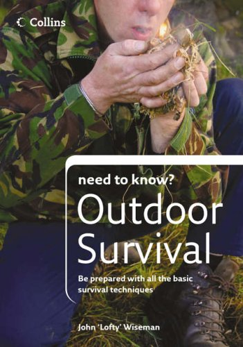 Outdoor Survival (Collins Need to Know?): Wiseman, John 'Lofty'