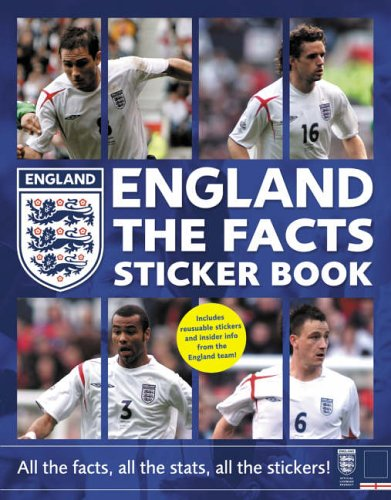 9780007216956: England The Facts Sticker Book: All the Facts, All the Stats, All the Stickers!