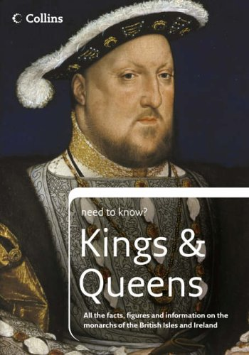 9780007218028: Kings and Queens (Collins Need to Know?)
