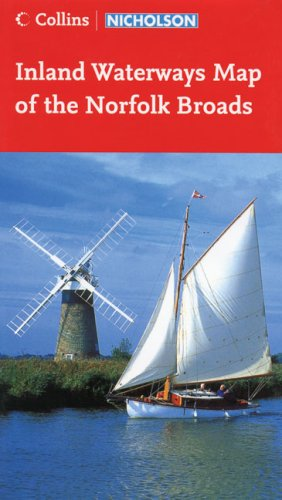 9780007219568: Collins/Nicholson Inland Waterways Map of the Norfolk Broads (Waterways Guide)