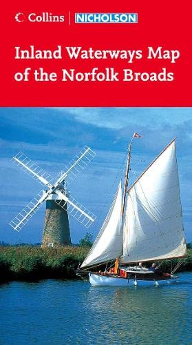 9780007219568: Collins Nicholson Waterways Map of the Norfolk Broads (Waterways Guides)