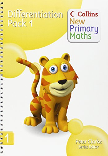 9780007220106: Differentiation Pack 1 (Collins New Primary Maths)