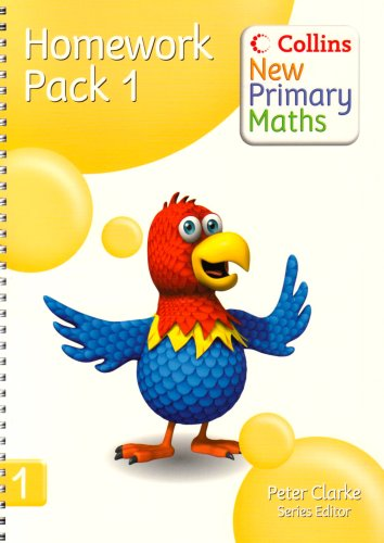 9780007220113: Collins New Primary Maths – Homework Pack 1