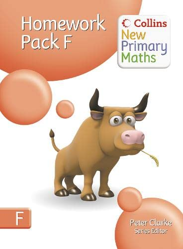 9780007220281: Homework Pack F (Collins New Primary Maths)