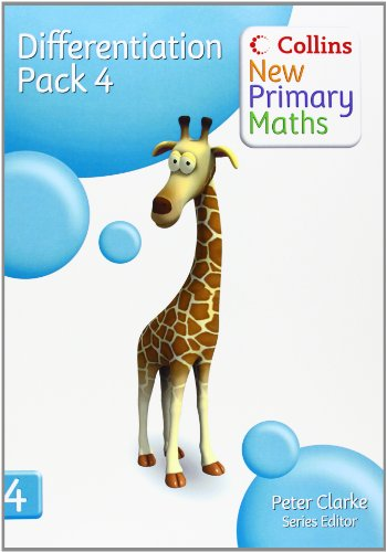 9780007220359: Collins New Primary Maths – Differentiation Pack 4