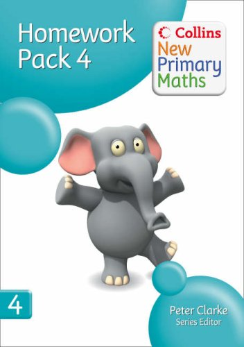 9780007220366: Homework Pack 4 (Collins New Primary Maths)