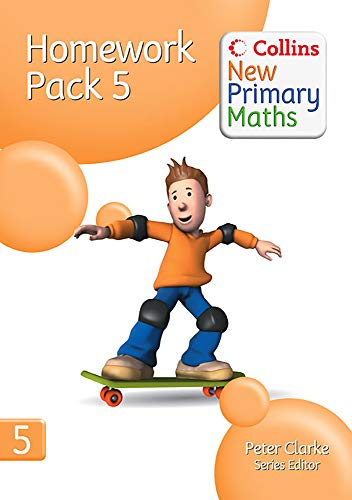 9780007220427: Collins New Primary Maths - Homework Pack 5