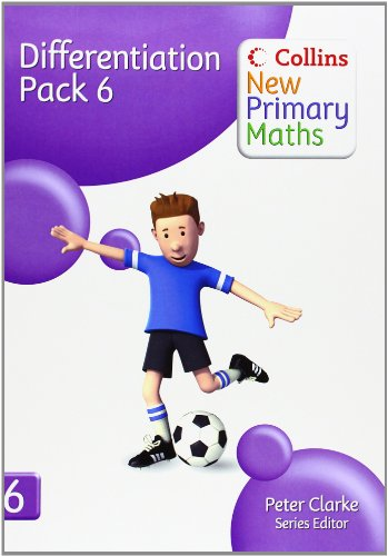 9780007220472: Collins New Primary Maths - Differentiation Pack 6