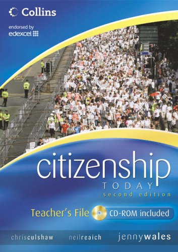 9780007220649: Citizenship Today - Teacher's File: Endorsed by Edexcel (Citizenship Today 2)