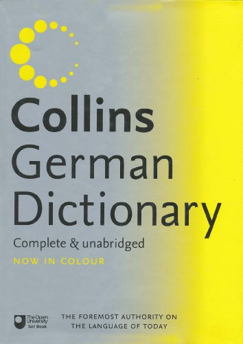 9780007221479: Collins German Dictionary (English and German Edition)