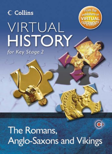 9780007221530: Virtual History for Key Stage 2 - The Romans, Anglo-Saxons and Vikings: CD-ROM