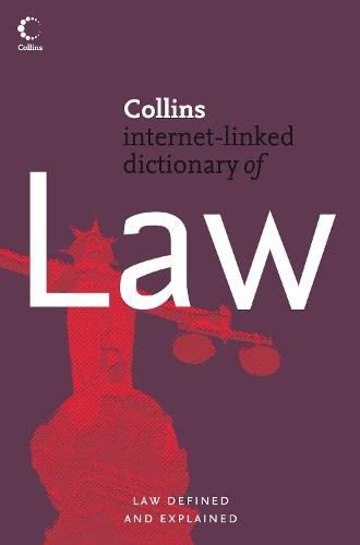 9780007221653: Law (Collins Dictionary Of...)
