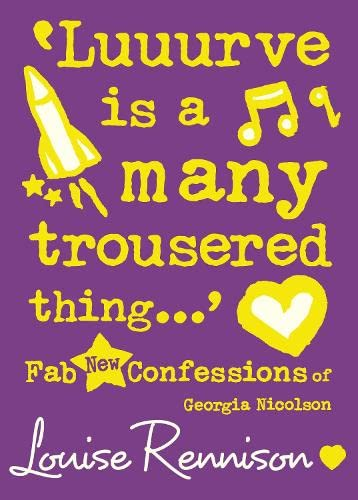 9780007222100: CONFESSIONS OF GEORGIA NICOLSON (8) - 'LUUURVE IS A MANY TROUSERED THING...'