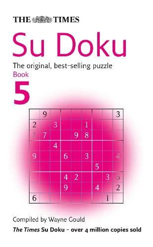9780007222421: The Times Su Doku Book 5: The Original, Best-selling Puzzle: Bk. 5