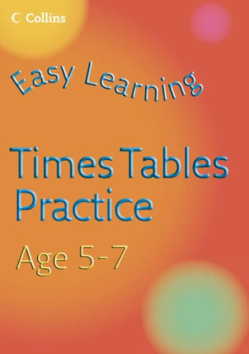 9780007222605: Easy Learning - Times Tables Practice Age 5-7