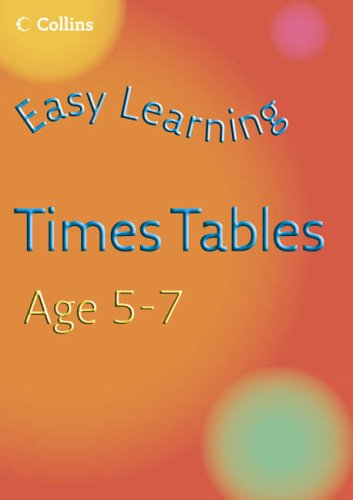 9780007222605: Times Tables Practice Age 5-7 (Easy Learning)
