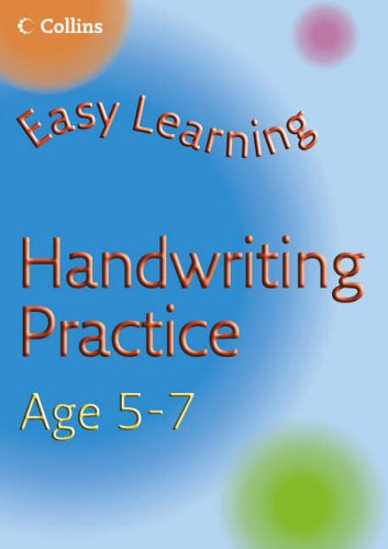 9780007222636: Handwriting Practice Age 5-7 (Easy Learning)