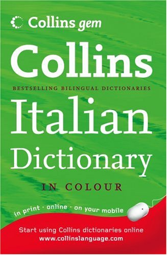 9780007224005: Collins Gem Italian Dictionary (Collins Gem)