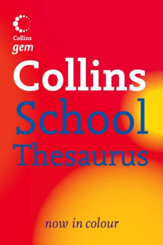 9780007224036: Collins School - Collins Gem School Thesaurus