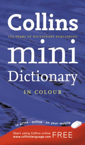 9780007224098: Collins Mini English Dictionary