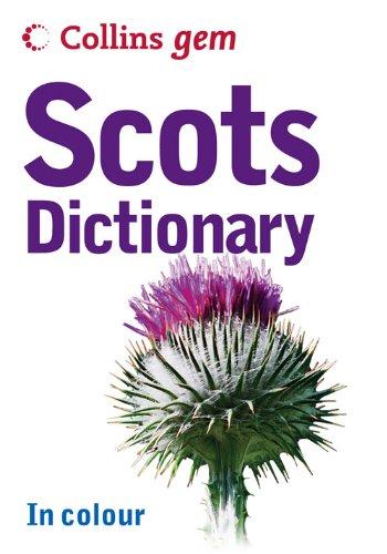 9780007224128: Collins Gem Scots Dictionary (Collins Gem)