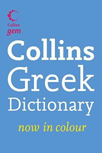 9780007224135: Collins Gem Greek Dictionary (Collins Gem)