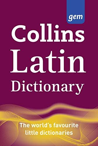 9780007224142: Latin Dictionary: Latin-English, English-Latin (Collins GEM)